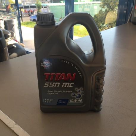 ΛΑΔΙ ΚΙΝΗΤΗΡΑ FUCHS TITAN SYN MC 10W40 5LT